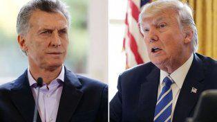 Macri dialogará esta tarde por teléfono con Donald Trump