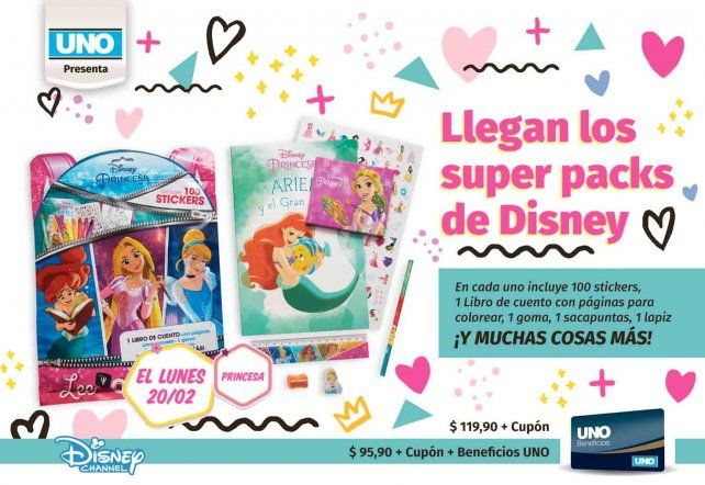 Los Súper Packs de Disney