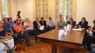 Reunión. Amra y Siprus tuvieron su primer encuentro con el ministro de Salud