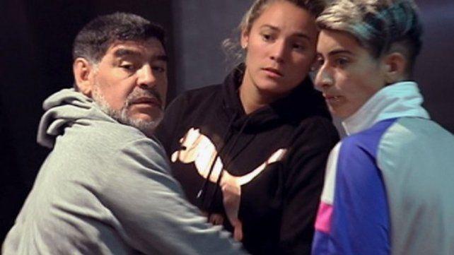 Rocío Oliva se negó a declarar por la discusión con Maradona