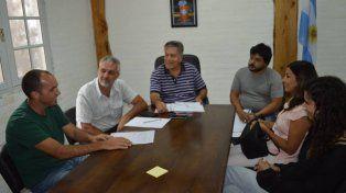 En Rincón. Hace unos días se reunieron con el intendente Carlos Sánchez. Cuentan son su apoyo y también con el de Eduardo Lorinz.