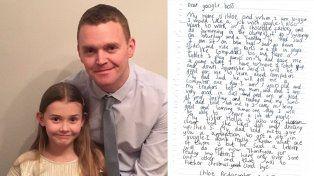 Una niña de siete años le pidió trabajo al CEO de Google y recibió una sorprendente respuesta