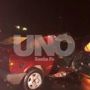 Accidente fatal: un muerto en un choque frontal en la ruta provincial 70