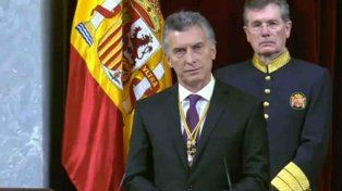 macri convoco en espana a profundizar inversiones