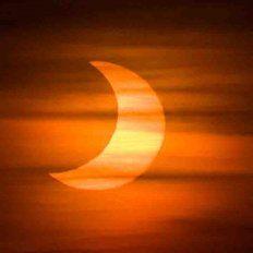 El domingo habrá un eclipse que se podrá ver en Santa Fe