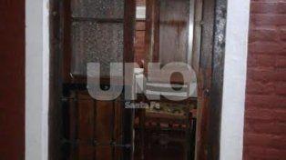 Bronca. A Daniel Testi no es la primera vez que le roban en su casa de Arroyo Leyes.
