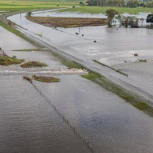 nacion prometio mil millones de pesos en obras contra inundaciones en santa fe, cordoba, la pampa y buenos aires