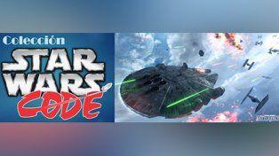 Comenzó una sorprendente muestra de Star Wars en el CODE