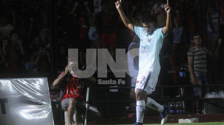 Nicolás Leguizamón fue el goleador rojinegro en la pretemporada.