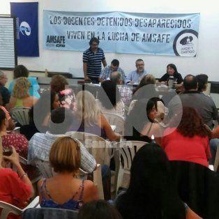 Casi 30.000 docentes. Se expresaron sobre la propuesta y rechazaron la oferta del gobierno.