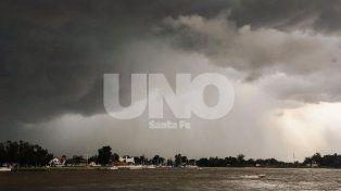 Rige un alerta por abundantes lluvias para Santa Fe