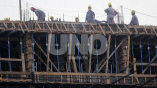 de la mano de la obra publica, la construccion afianza su recuperacion