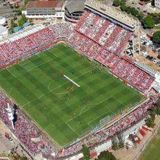 #PasiónSantafesina: Así se veía el estadio 15 de Abril desde el aire antes del partido