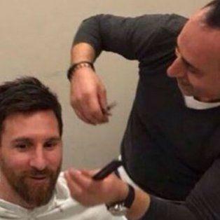 un peluquero turco es el hacedor del nuevo look de lio messi