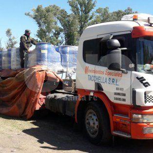 gendarmeria nacional secuestro toneladas de precursores quimicos en rafaela