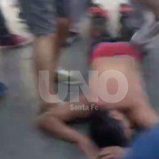 Así fueron los disturbios en Bulevar tras el clásico santafesino