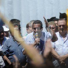 En lucha. Leoni dijo que este miércoles se marchará a las municipalidades de Rosario y de Santa Fe
