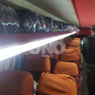 Ruta 168: Gendarmería secuestró mercadería de contrabando valuada en dos millones de pesos