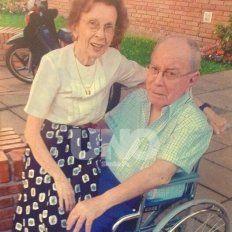 Compañía. El matrimonio conformado por Juana y Jorge se mantiene desde hace más de 60 años
