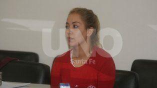 Tipo mula. Romina Pintos de 25 años fue detenida en Rafaela en marzo del 2016.