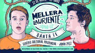 Diairo UNO te invita a ver lo mejor del stand up de Mellera Lauriente