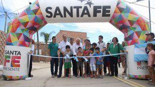 Lifschitz inauguró la pavimentación del acceso a Alto Verde