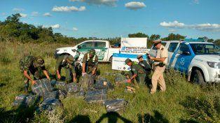 Secuestraron un cargamento de 700 kilos de marihuana cuyo destino era Itatí, en Corrientes