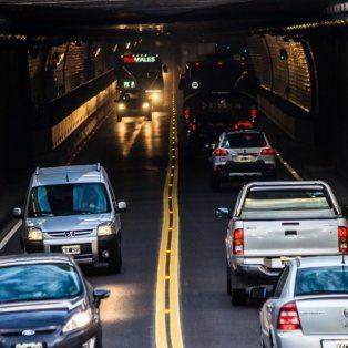 tunel subfluvial: piden paciencia ante un fin de semana con eventos masivos