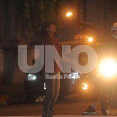 Buscan a una mujer que chocó a un malabarista y escapó esta madrugada en Bulevar Gálvez