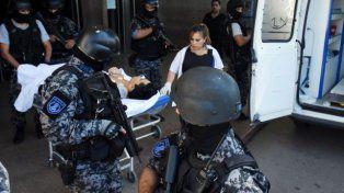 Herido. Muñoz recibió el impacto de las balas pero se salvó. Para Del Frade el operativo de custodia fue anoréxico.
