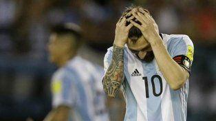 Le cortaron las piernas a Messi y a la Selección Argentina