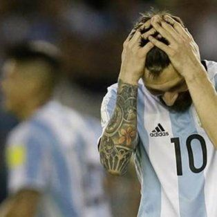 le cortaron las piernas a messi y a la seleccion argentina