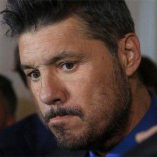 El arreglo. El Secretario de Selecciones Marcelo Tinelli busca reducir la sanción a Lionel Messi.