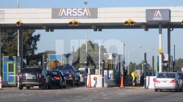 Autopista Santa Fe-Rosario: el peaje aumentó un 75% y ahora los autos pagan $35