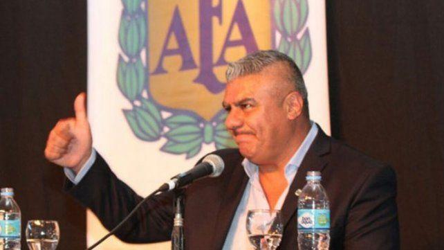 El presidente de la AFA, Claudio Tapia, tendrá un cara a cara con el gobierno para apurar la vuelta del fútbol.