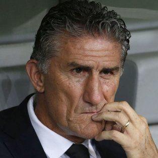 Las horas contadas. El lunes le comunicarán al Patón que no seguirá al frente de la Selección.