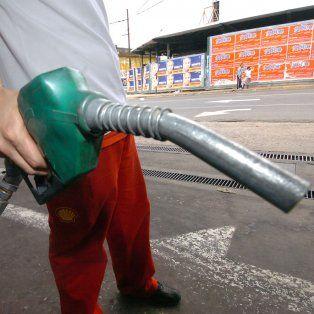 Para arriba. Sería el segundo aumento del año en las naftas.