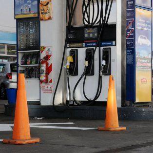 Combustibles. El paro fue determinado ante la negativa de firmar un acuerdo para frenar los despidos.