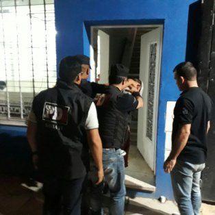 Detenido. El martes, pasadas las 21, la policía lo aprehendió en Santo Tomé.