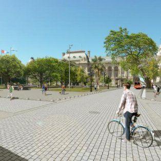 Cambios. Tienen como eje su renovación mejorar la calidad ambiental y devolver la jerarquía de plaza principal.