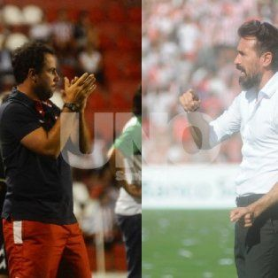 Nueva etapa. Pumpido y Domínguez son los segundos DT de Unión y Colón en el Torneo.