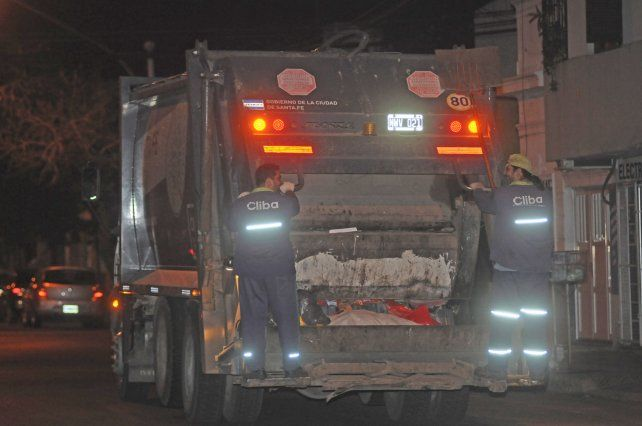 Camioneros. La recolección de residuos podrá verse afectada desde la hora cero del jueves.