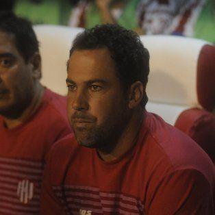 En positivo. Pumpido destacó la tarea de sus pupilos contra Talleres.
