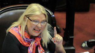 Firme.Elisa Carrió, diputada nacional por Cambiemos.