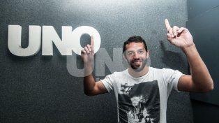 Lucas Gamba, el mejor delantero de la Superliga
