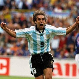 Goleador. Hasta que Lionel Messi lo desbancó, Gabriel Batistuta era el máximo anotador de la historia con la Selección.