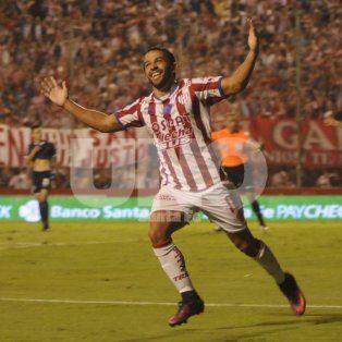 Encendido. Lucas Gamba es uno de los jugadores más importantes de Unión.