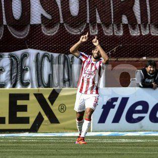 La mandó a guardar. Lucas Gamba fue autor de gol de la última victoria de visitante ante Lanús.
