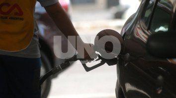 la nafta aumenta un 5% desde este viernes