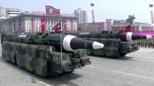 Corea del Norte afirmó estar preparada para responder a cualquier ataque nuclear